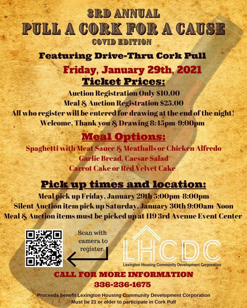 3rd Annual Pull A Cork for a Cause